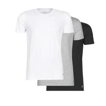 Kleidung Herren T-Shirts Polo Ralph Lauren WHITE/BLACK/ANDOVER HTHR pack de