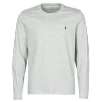 Kleidung Herren T-Shirts Polo Ralph Lauren L/S CREW-CREW-SLEEP TOP Grau