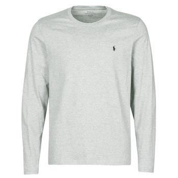 Kleidung Herren Langarmshirts Polo Ralph Lauren L/S CREW-CREW-SLEEP TOP Grau