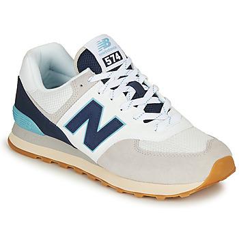 Schuhe Herren Sneaker Low New Balance 574 Grau  / Navy