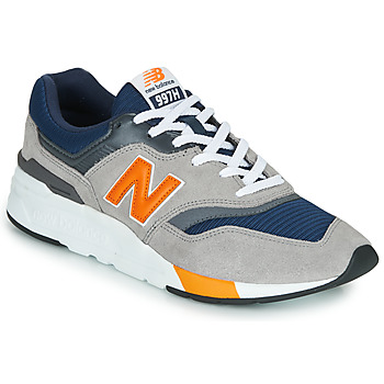 Schuhe Herren Sneaker Low New Balance CM997HEX Navy / Grau  / Orange