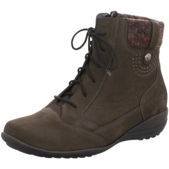 Schuhe Damen Boots Waldläufer Stiefeletten 601805-995-014 grau
