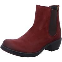 Schuhe Damen Boots Fly London Stiefeletten MAKE P142458034 rot