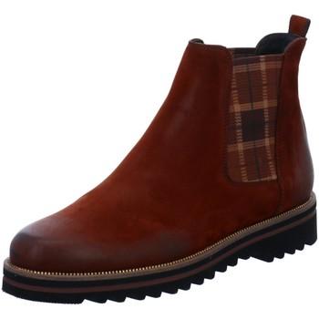 Schuhe Damen Boots Paul Green Stiefeletten 9643 9643-025 braun