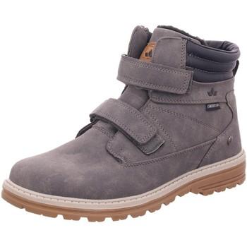 Schuhe Mädchen Boots Lico Klettstiefel Burschen Boots S.OliverTyp 530828 grau
