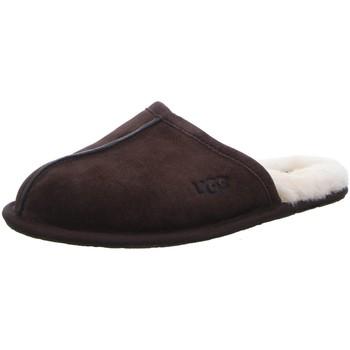 Schuhe Damen Hausschuhe UGG Scuff 1101111 Espresso braun