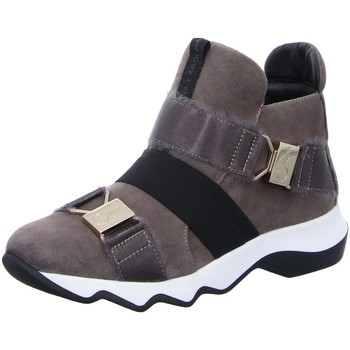 Schuhe Damen Boots Donna Carolina Stiefeletten D.Halbschuhe taupe 40.846.060-001 grau
