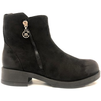 Schuhe Damen Boots Chattawak Botine 8-Vamp Noir Schwarz