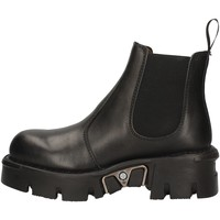 Schuhe Damen Ankle Boots New Rock NRSM-1554ASA-C1 BLACK