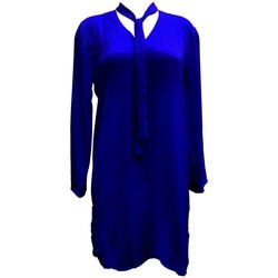 Kleidung Damen Tuniken By La Vitrine Tunique l'olive verte Marine CH3 Blau