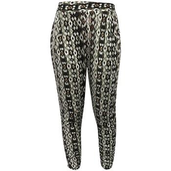 Kleidung Damen Fließende Hosen/ Haremshosen Dress Code Pantalon CT-5672C Vert Grün