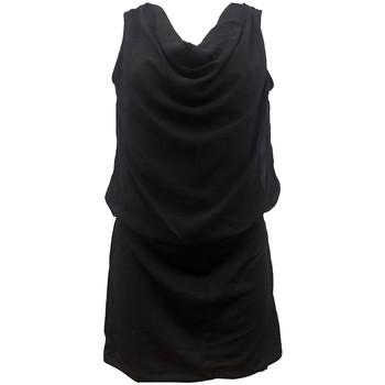 Kleidung Damen Kleider By La Vitrine Robe Noir Coco Giulia 0Y-019 Schwarz