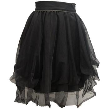 Kleidung Damen Röcke Rich & Royal Jupe Noir 13Q691 Schwarz