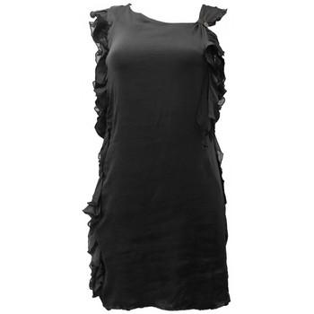 Kleidung Damen Kleider Rich & Royal Robe Noir 13Q686 Schwarz