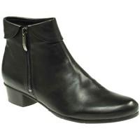 Schuhe Damen Low Boots Regarde Le Ciel Stiefeletten Stefany-03-003 schwarz