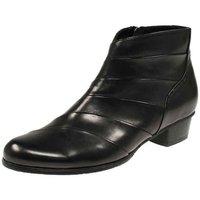Schuhe Damen Low Boots Regarde Le Ciel Stiefeletten Stefany 293 Stefany-293-003 schwarz