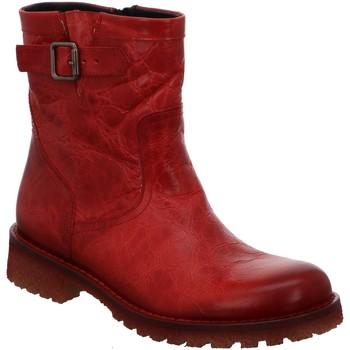 Schuhe Damen Low Boots Lazamani Stiefeletten 74.441 fire rot
