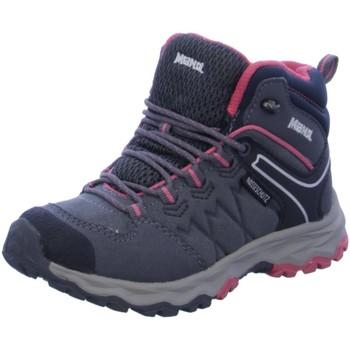 Schuhe Jungen Wanderschuhe Meindl Bergschuhe Boneto Junior Mid 2111-03 grau