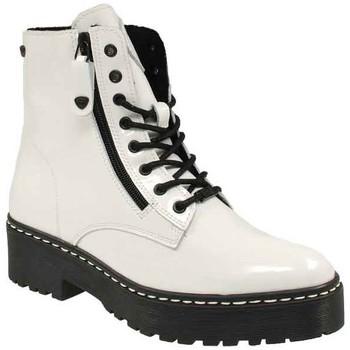Schuhe Damen Boots Black Stiefeletten 1*258, 1*222 262418000-106 weiß