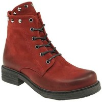 Schuhe Damen Boots Macakitzbühel Stiefeletten 2543 rot