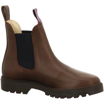 Schuhe Damen Low Boots Blue Heeler Stiefeletten Jackaroo,brown-navy 101NY braun