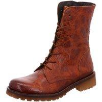 Schuhe Damen Boots Lazamani Stiefeletten 74.440-3 braun