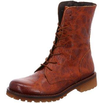 Schuhe Damen Boots Lazamani Stiefeletten 74440cognac 74440cognac braun