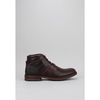 Schuhe Herren Boots Krack MOUNT Braun