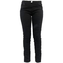 Kleidung Damen Fließende Hosen/ Haremshosen Dress Code Pantalon C601 Noir Schwarz