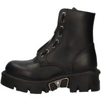 Schuhe Damen Low Boots New Rock NRSM-MILI219ASA-C2 BLACK