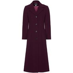 Kleidung Damen Mäntel Anastasia Winter Einreiher Kaschmir Mantel Red
