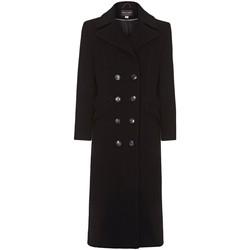 Kleidung Damen Mäntel Anastasia Winter Zweireiher Kaschmir Mantel Grey