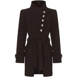 Kleidung Damen Trenchcoats Anastasia Wintermantel Mit Mehreren Knöpfen Black