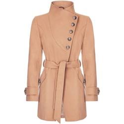 Kleidung Damen Trenchcoats Anastasia Wintermantel Mit Mehreren Knöpfen Beige