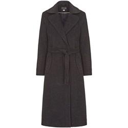 Kleidung Damen Trenchcoats Anastasia Winter Kaschmir Wrap Mit Gürtel Coat Grey