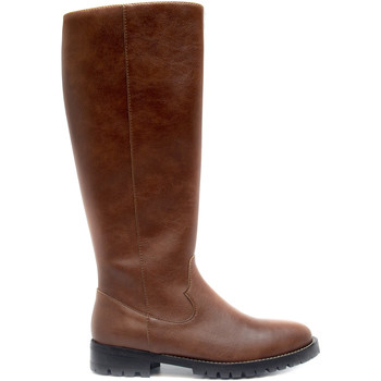 Schuhe Damen Klassische Stiefel Nae Vegan Shoes Lou Brown Braun
