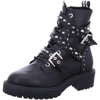 Schuhe Damen Stiefel Bullboxer Stiefeletten 031506F6S-BLCK schwarz
