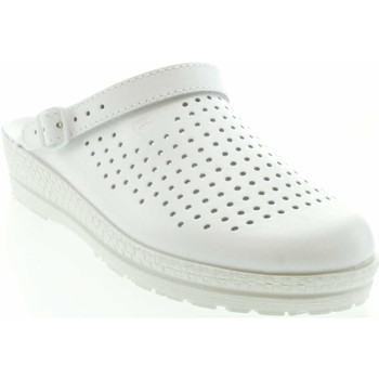 Schuhe Damen Pantoletten / Clogs Rohde Damenclogs 1445 00 Weiss