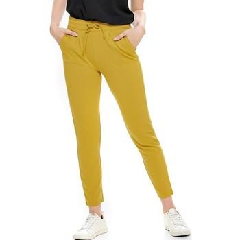 Kleidung Damen Hosen Jacqueline De Yong PANTALON  PRETTY Gelb