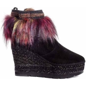 Schuhe Damen Low Boots Vidorreta 96166PTTI Schwarz