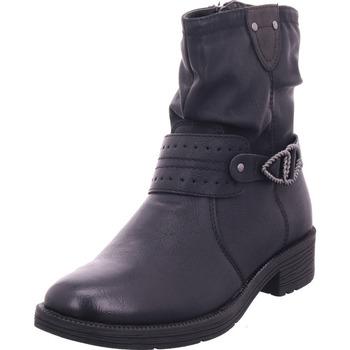 Schuhe Damen Stiefel Jana Woms Boots BLACK