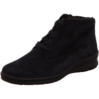 Schuhe Damen Stiefel Semler Stiefeletten Xenia X10156042080 blau