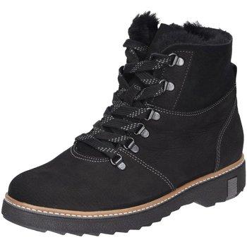 Schuhe Damen Boots Waldläufer Stiefeletten 911802 911802-301-001 schwarz