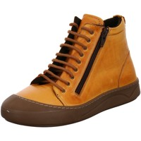 Schuhe Damen Stiefel Gemini Stiefeletten Kaja St. Schn?rboot ocker 031007-02/320 gelb