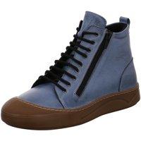 Schuhe Damen Stiefel Gemini Stiefeletten ANILINA STIEFEL 031007-02/808 808* blau