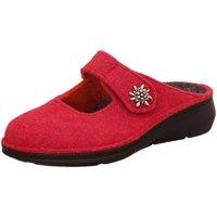Schuhe Damen Hausschuhe Finn Comfort Silveretta 6565 482433 rot