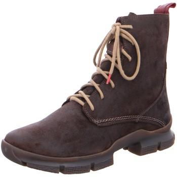 Schuhe Herren Stiefel Think Waunda 85636-42 braun