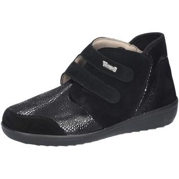 Schuhe Damen Slipper Florett Slipper Lyon K-Weite 77351-60 schwarz