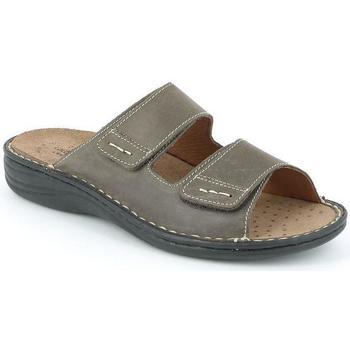Schuhe Herren Pantoffel Grunland DSG-CE0159 MARRONE
