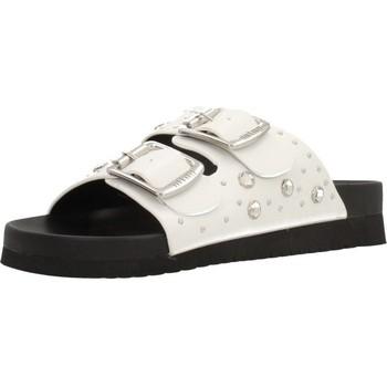 Schuhe Damen Pantoffel MTNG CRETA Weiß